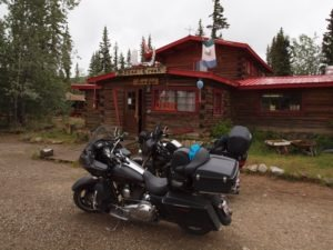The Moose Creek Lodge south of Dawson on the Klondike Highway is home to some great homemade pies and soups