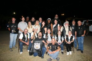 The fine folks of the Norwalk Centaurs MC, still smiling after their hard work pays off in another successful Prison Run