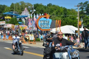 Cruising the Weirs is always a favorite activity for Motorcycle Week visitors