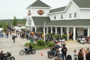 Laconia H-D in Meredith was a hub of activity throughout the week