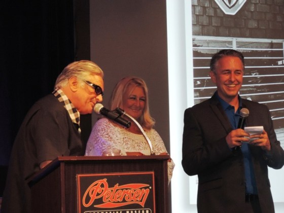 "Emcee Barry Weiss of ""Storage Wars"" introduces Arlen's daughter, Sherri, and son, Cory"
