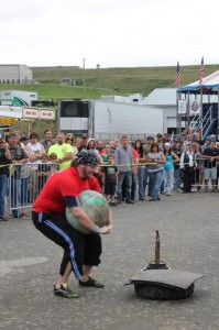 Feats of strength on display courtesy of Bikers for Christ