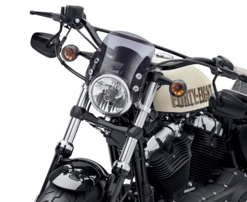 Compact Sport Wind Deflector by Harley-Davidson