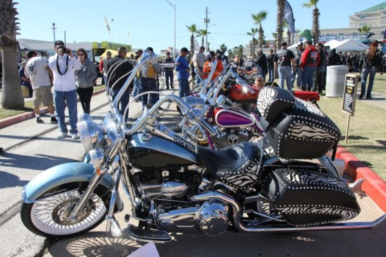Saturday's Ride-In Bike Show had a little bit of everything on display