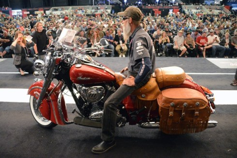 The Chief Vintage Onstage at the Barrett-Jackson auction