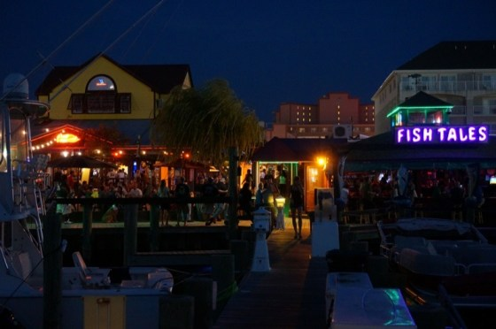 Fish Tales in Ocean City was a fun place to party at the end of the day