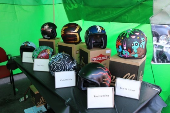 The Lucky 13 Helmet Auction raised thousands on eBay for Aidan Has a Posse