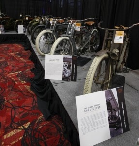 The George Pardos collection included 20 motorcycles. Among them was the top-selling motorcycle for the entire auction, a 1911 H-D 7D Twin.