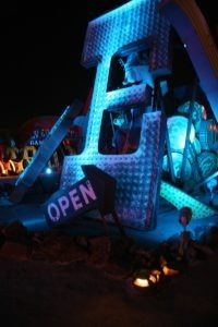 The Neon Boneyard Museum is a glowing alphabet soup of discarded neon signs with colorful pasts