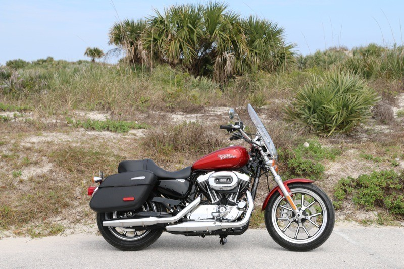2014 Harley-Davidson Sportster SuperLow 1200T ride review |