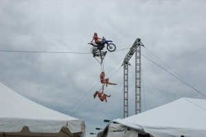 Circus Una Motorcycle Thrill Show