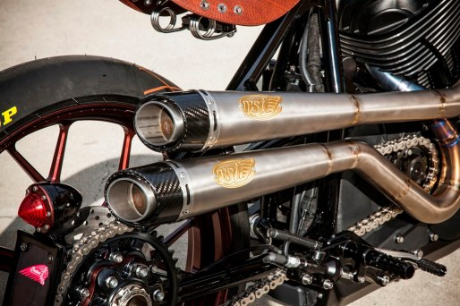 The custom Roland Sands Design Indian will be unveiled at the Buffalo Chip between concerts on Sunday, August 3rd (appx 9:30-10:30 pm)
