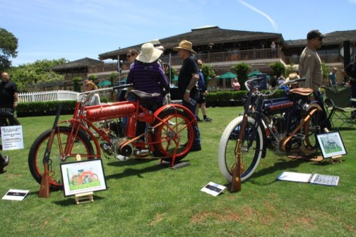 Quail Motorcycle Gathering 1909 Winchester 1910 WInchester