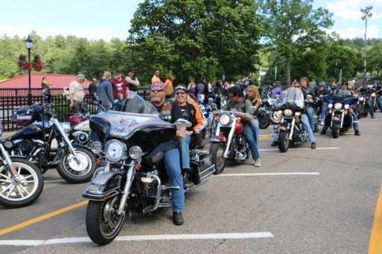 The weather was spectacular during Motorcycle Week, resulting in smiling faces and crowds on Lakeside Avenue all week long