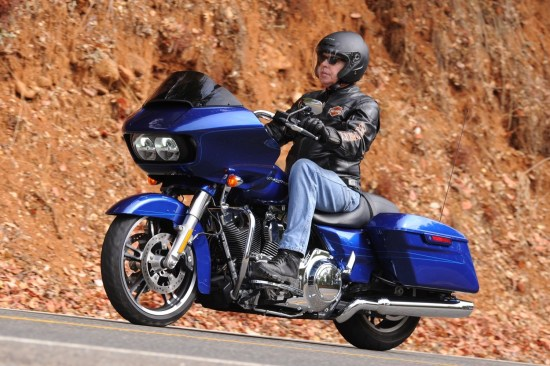 The Road Glide returns for 2015 along with the introduction of the Road Glide Special (pictured)