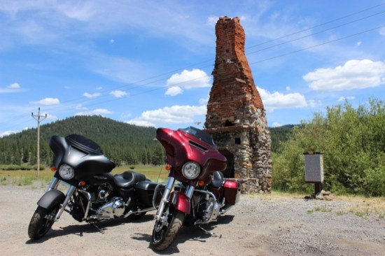 "A quick stop at ""The Chimney"" alongside Highway 36 just outside of Westwood offers great photo ops with views of Goodrich Mountain to the north and Mountain Meadows Valley and Reservoir to the south"