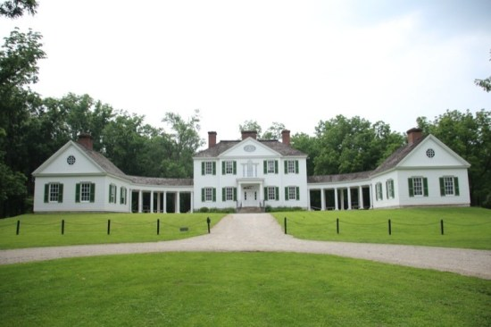 The reconstructed Blennerhassett Mansion on Blennerhassett Island made for a fascinating tour