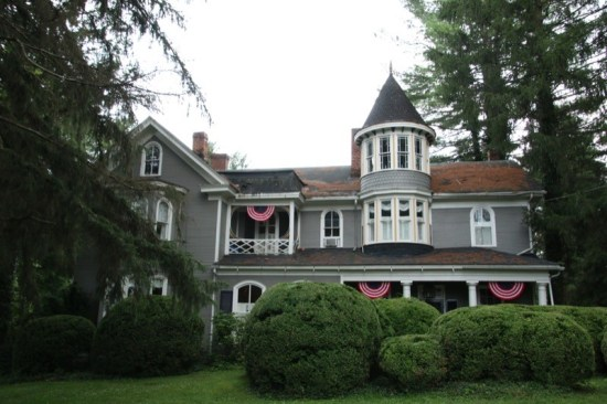 The lovely and elegant Edgarton Inn Bed & Breakfast is the oldest residence in Ronceverte