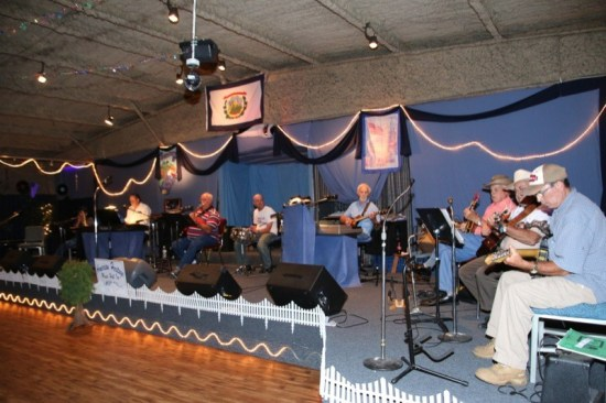 The American Heritage Music Hall keeps West Virginia music heritage alive. The night we were there involved a lively jam session with talented local musicians performing.
