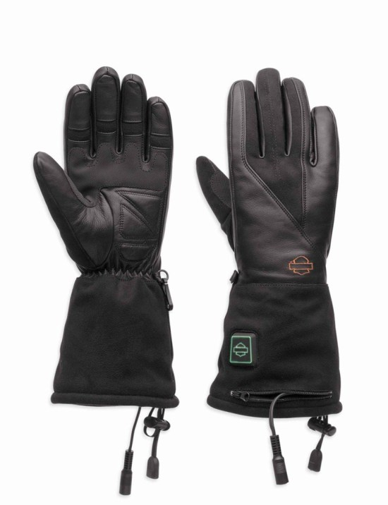 The women's gloves are flexible and comfortable, and, like the jacket liner and pants, can be powered either by the bike's battery or by internal lithium batteries