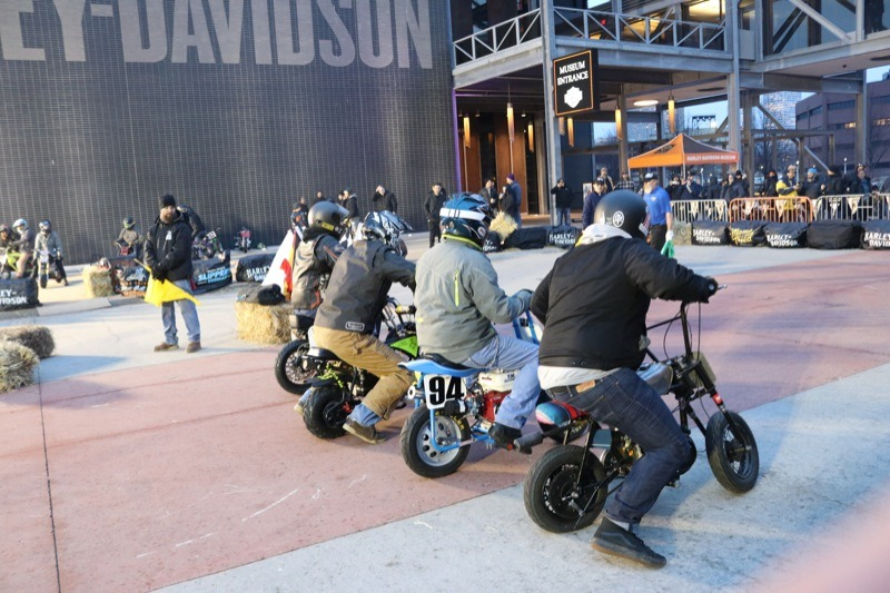 """Promoter of the Flat Out Friday races, Jeremy Prach, also organized a """"Boonie"""" race at the Harley-Davidson bike night that kicked off a full three days of Mama Tried mania"""