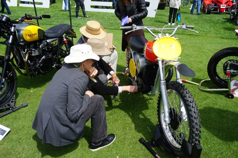 Judges were fastidious about details on every bike in the show
