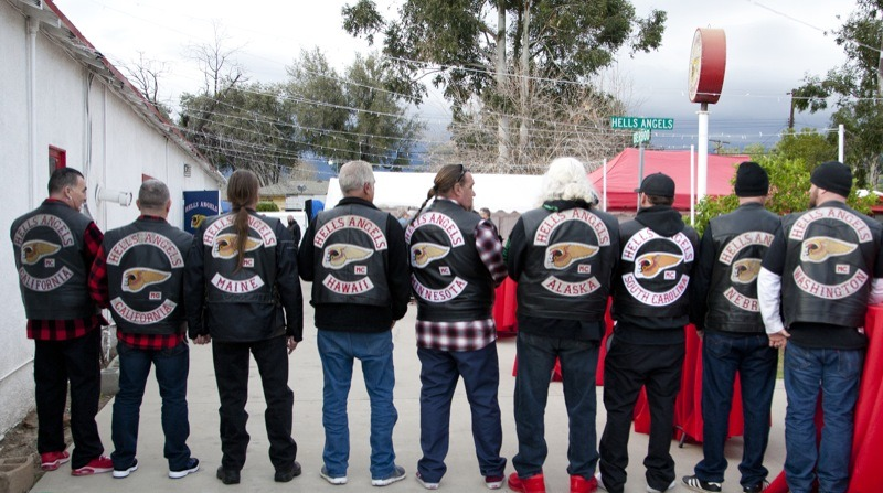 Hells Angels MC members came from all corners to celebrate 70 years of brotherhood