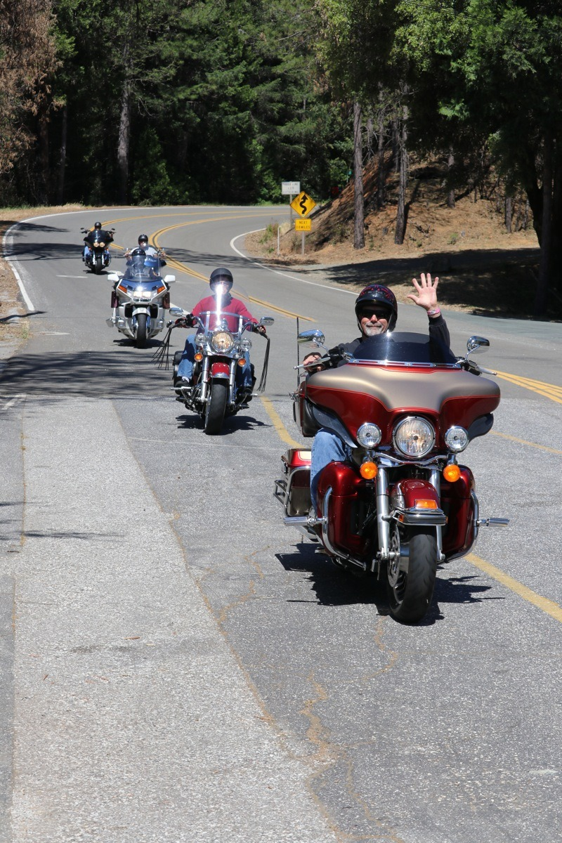 Riders came from near and far to camp and carouse during the popular GFMC annual campout