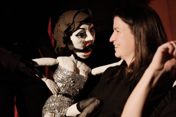 July: Peggy Taylor debuts at the Spice Cellar burlesque