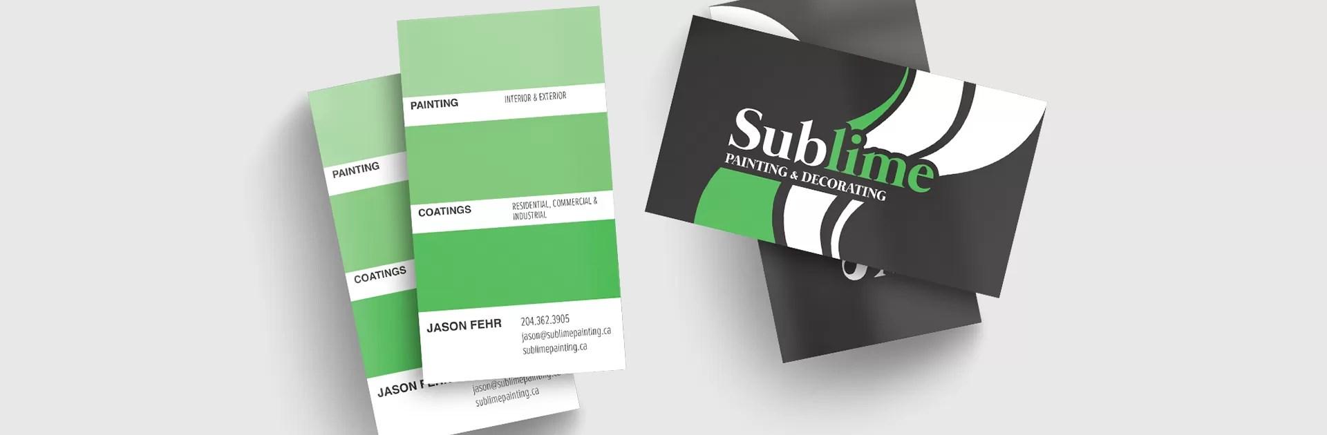 Sublime BusinessCard MockupBanner