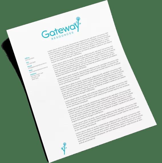 gateway letterhead