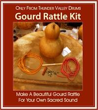 TVD's gourd rattle kit