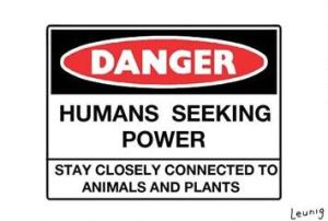 humans seeking power graphic