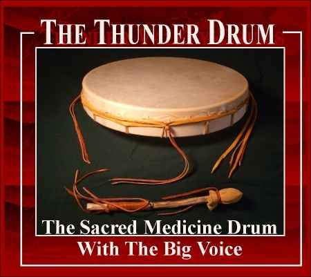 The Thunder Drum from Thunder Valley Drums