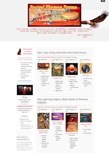 sacred shaman drums store