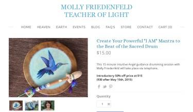 Molly's Hummingbird Drum