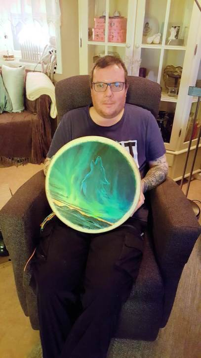 stian a drum customer of thunder valley drum lives in norway