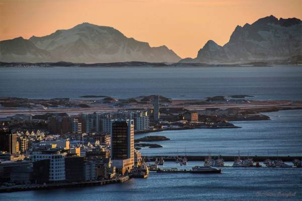 Bodø Norway harbor