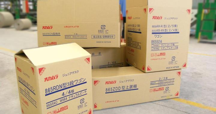 Thùng giấy đóng hàng gửi đi Nhật Bản