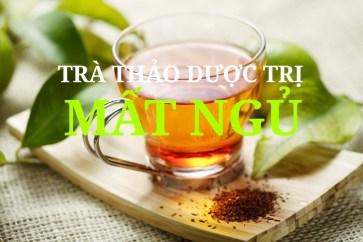 trà thảo dược trị mất ngủ