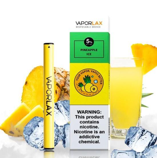 Pod 1 lần Vaporlax Nano Pineapple Ice vị dứa lạnh - Thuốc Lá Xanh