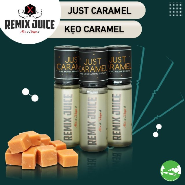 Remix Juice mùi đơn hương kẹo caramel - Thuốc Lá Xanh
