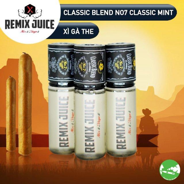 Remix Juice mùi đơn hương xì gà the- Thuốc Lá Xanh