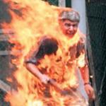 self immolation--