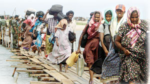 60b-Tamil stram refugees-Island