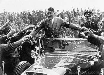Adolf Hitler, Nuremberg Rally, Nuremberg, Germany, September 1933