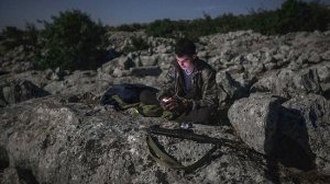 syrian opposition fighter-AP