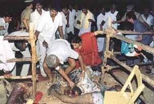 RAJIV KILL--some dead