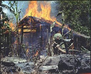 VIET CAMP DESTORYED