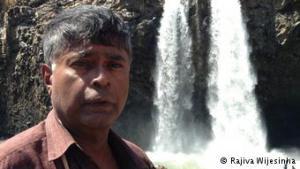 Rajiva and waterfall